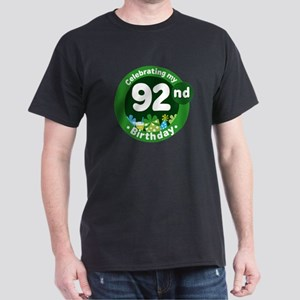 92nd Birthday Dark T-Shirt